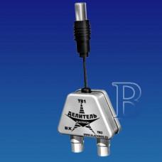 Разветвитель на 2 TV Р2К (РТ2) Blackmor шнур 10см (г.Санкт-Пет) (уп.20