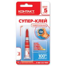 "Клей ""Контакт"" 3гр. (уп.12 шт.) /кор.288шт"